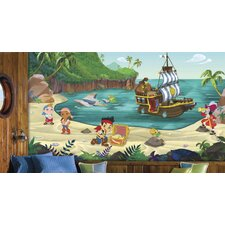Jake and The Never Land Pirates Prepasted Wall Mural