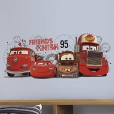 Cars 2 Friends to The Finish Giant Wall Mural