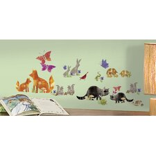 Woodland Friends Wall Decal