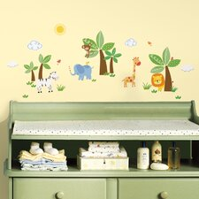 Jungle Friends Wall Decal