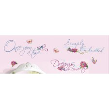 Princess Quotes Wall Decal