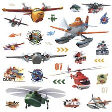 Popular Characters Planes Fire and Rescue Wall Decal