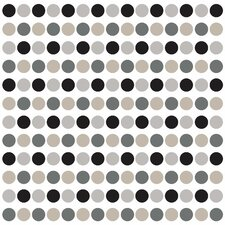 Neutral Confetti Dots Wall Decal
