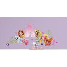 Popular Characters Disney Princess Palace Pets Wall Decal
