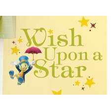 Popular Characters Wish Upon a Star Wall Decal