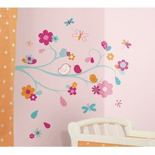 Zutano Friendly Bird Wall Decal