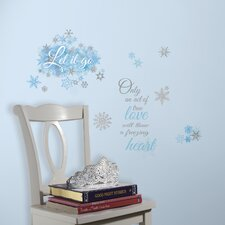 Popular Characters Frozen Let It Go Wall Decal