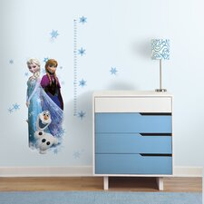 Popular Characters 20 Piece Frozen Elsa, Anna and Olaf Wall Decal