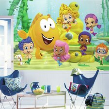 Prepasted Bubble Guppies XL Ultra Strippable Wall Mural