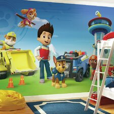 Prepasted Paw Patrol XL Ultra Strippable Wall Mural