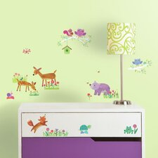 Woodland Baby Wall Decal