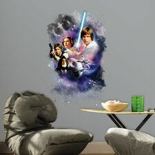 Internet Only Star Wars Classic Mega Wall Mural