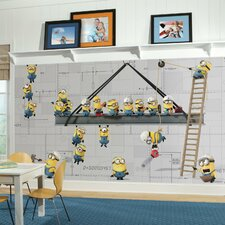 Popular Characters Minions at Work XLPrepasted Wall Mural