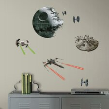 Star Wars Ep VII Spaceships P and S Wall Decal