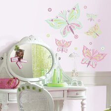 Waverly Butterfly Peel and Stick Giant Wall Decal