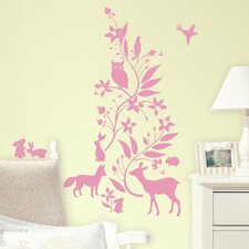 Forest Friends Peel and Stick Giant Wall Decals