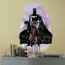 Batman with Villians Peel and Stick Giant Wall Decals