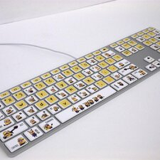 Moose Entertainment Minions Keyboard Peel and Stick Stickers