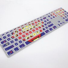 Warner Brothers Superman Keyboard Peel and Stick Stickers