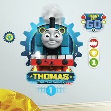 HIT Entertainment Thomas the Tank Engine Peel and Stick Wall Decal