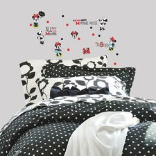 Minnie Rocks the Dots Peel and Stick Wall Decal