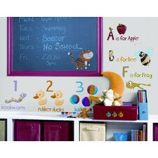 Studio Designs 115 Piece Education Station Wall Decal