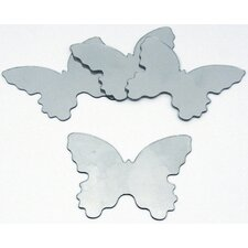 Wall Mirrors Butterfly Wall Decal (Set of 4)