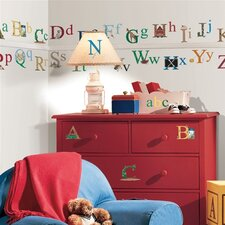 Studio Designs 73 Piece Alphabet Wall Decal