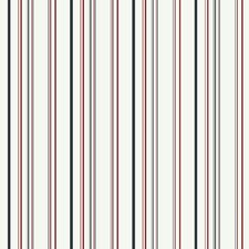 "Room Mates Deco Wild 27' x 27"" Stripe Wallpaper"