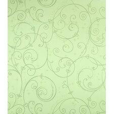 """Room Mates Deco Perfect Princess 20.5' x 2"""" Scroll Wallpaper"""