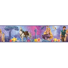 "33' x 20.5"" Tangled Border Wallpaper"