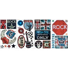 Studio Designs Boys Rock-N-Roll Wall Decal