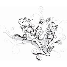 Deco Forever Twined Giant Wall Decal