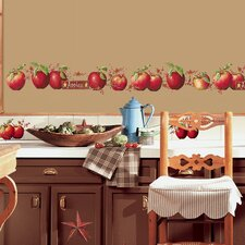 Room Mates Deco 40 Piece Country Apples Wall Decal