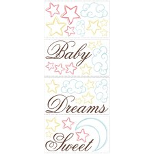 Studio Designs Sweet Dreams Baby Wall Decal