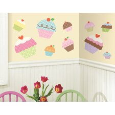 Studio Designs Happi Cupcake Giant Wall Decal