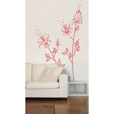 Mia and Co Pollen Wall Decal