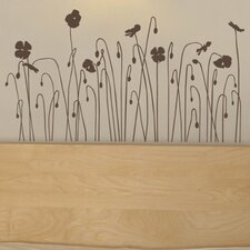 Mia and Co Floral Arc Wall Decal