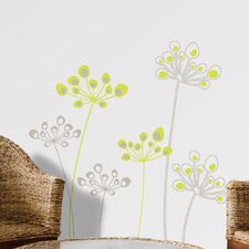 Mia and Co Astral Flowers Wall Decal