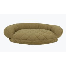 Microfiber Quilted Bolster Bed with Moisture Barrier Protection