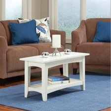 Shaker Cottage One Seat Bench with Shelf