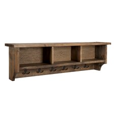 Pomona Wall Mounted Coat Rack with Storage Cubbies