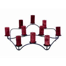Williamsburg Iron Contours Hearth Candelabra