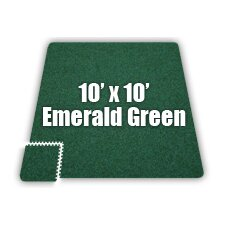 SoftCarpets Set in Emerald Green