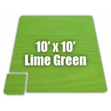 Premium SoftFloors Set in Lime Green
