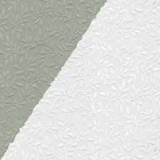 "Leaves All Over 33' x 20.5"" Prepasted Paintable Roll Wallpaper"