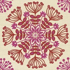 "Swedish Floral 33' x 20.5"" Prepasted Roll Wallpaper"