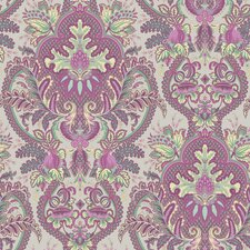 "Small Paisley Damask 33' x 20.5"" Prepasted Roll Wallpaper"