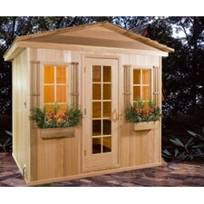 4-6 Person Prebuilt Sauna