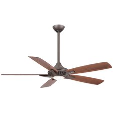 """52"""" Dyno 5 Blade Ceiling Fan with Remote"""